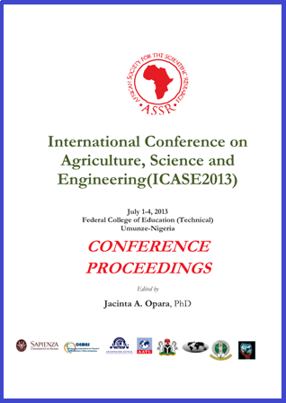 ICASE 2013 Cover