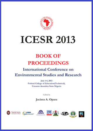 ICESR 2013 Cover