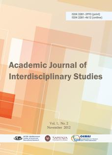 Academic Journal of Interdisciplinary Studies Vol 1 (2) November 2012 Full Version
